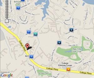 Arundel Crime Map